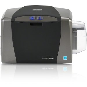 Fargo Electronics Double Sided Dye Sublimation/Thermal Transfer Printer - Color - Desktop
