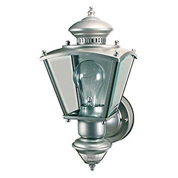 150 Degree Motion Activated Decorative Light, Silver