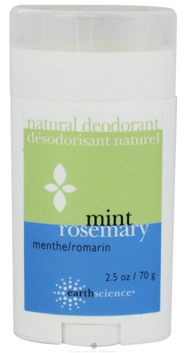 Earth Science: Natural Deodorant Mint Rosemary, 2.5 - Deodorant Natural Earth
