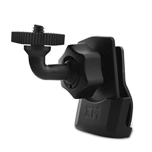 360 Degree Swivel Helmet Side Mount Clip Holder for Gopro, SJCAM, SJ4000, Sony Action Cam and AEE Sports POV Cameras