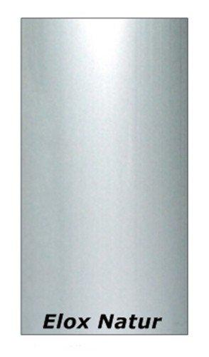 que se adapta de perfil perfil de compensaci/ón de 40 mm Perfil de transici/ón Aluminio anodizado: Colour blanco-plata - C-01