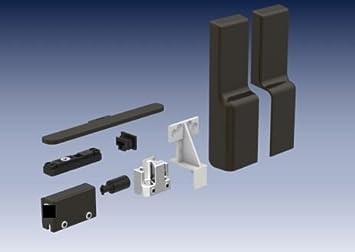 Gu accesorios para puertas correderas marrón UC5, adecuado para 200 kg Variante, incl. Bisagra búfer 30848 y tope 43224: Amazon.es: Bricolaje y herramientas