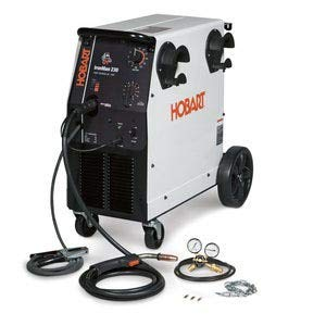 - Hobart 500536 Ironman 230 MIG Welder With Wheel Kit & Cylinder Rack