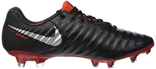 Adults' lt Elite Footbal metallic 7 black 006 Black Nike Crimson Shoes Legend Silver Fg Unisex UwqH5H