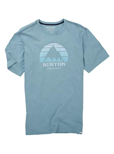 - Burton Men's Underhill Short Sleeve Tee, Stone Blue, Medium
