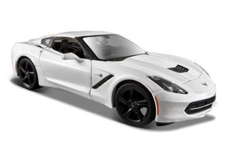 Chevrolet 2014 Corvette C7 Stingray 1 24 By Maisto 31505 White