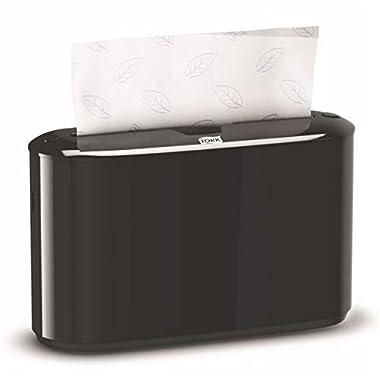 Tork 302028 Xpress Countertop Multifold Hand Towel Dispenser, Black