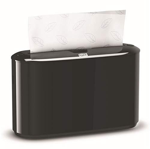 Tork Xpress Countertop Interfold Multifold Hand Towel Dispenser, Black ()