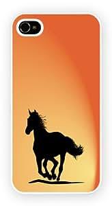 HORSE SHILOUETTE iPhone 5C Funda Para Móvil Case Cover