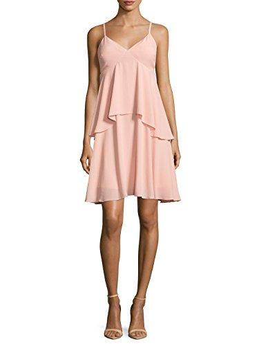 Julia Jordan Spaghetti Strap Tiered A-Line Dress Size 10 ()