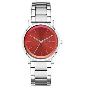 DKNY Soho Silver-Tone Stainless Steel Women's watch #NY2267