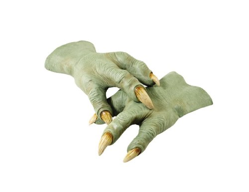 (Yoda Latex Adult Hands Green)