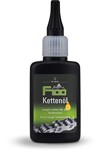 Dr. Wack – F100 kettingolie – druppelfles 50 ml I premium fiets kettingolie voor minder wrijving en slijtage I…