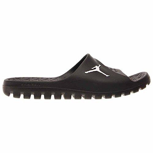 Jordan Nike Uomo Super.fly Sandalo Scorrevole A Squadra Nero / Bianco