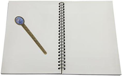 Notizbuch 2 Stück Retro Ringbuch spiral blanko Tagebuch A5 liniert mit Spiralbindung säurefreies Zeichenpaier Hardcover Noitzblock für erwachsene Business Büro outdoor Skizzenbuch Papier 50 Blätter