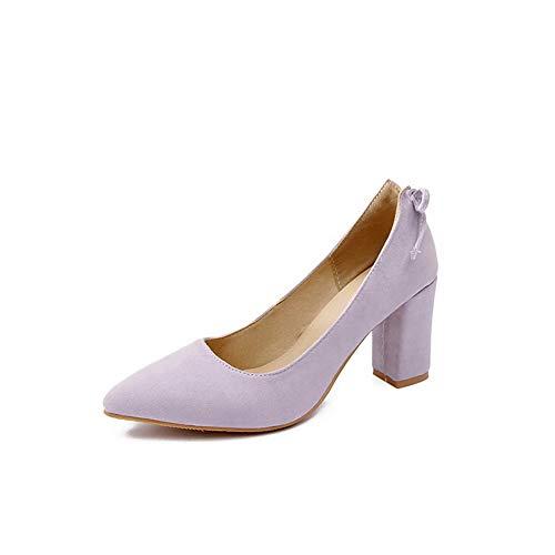 Solid Shoes APL10545 Pumps Urethane BalaMasa Outdoor Purple Casual Womens BTUqv6