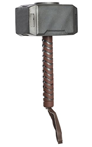 [Avengers Assemble Thor Molded Hammer] (Marvel Super Villains Costumes)