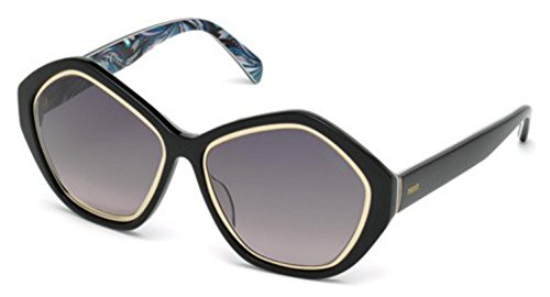 emilio-pucci-womens-ep0019-0019-05b-black-gold-multi-fashion-sunglasses-57mm