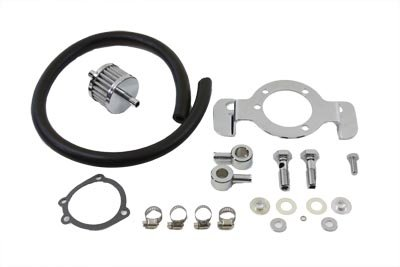 (V-Twin 35-0121 - Crankcase Breather and Bracket Kit)