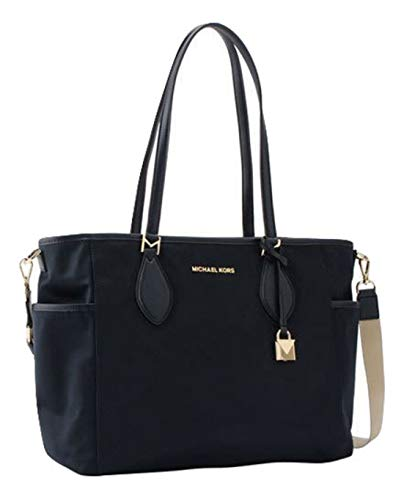 Michael Kors Connie Large Nylon Diaper Bag Navy (Baby Mk Bag)
