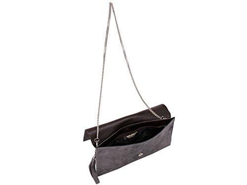 Bag Bag Gray Clutch scarlet Clutch bijoux Charcoal bijoux scarlet zxOPpwPSq