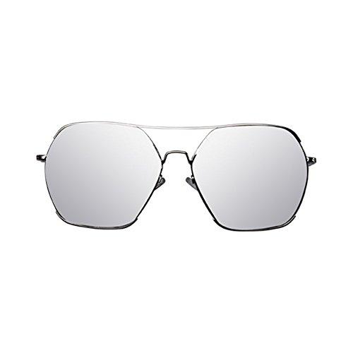 YQ Color Gafas Sol Moda QY De Turismo Retro Grande Unisex Gafas Marco Al 2 2 Libre De Aire Conducción rCrnOqta