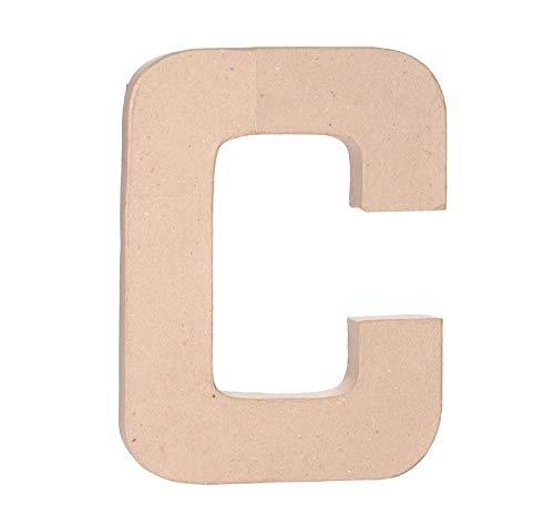 Darice Paper Mache Letter - C - 12 x 1.5 inches