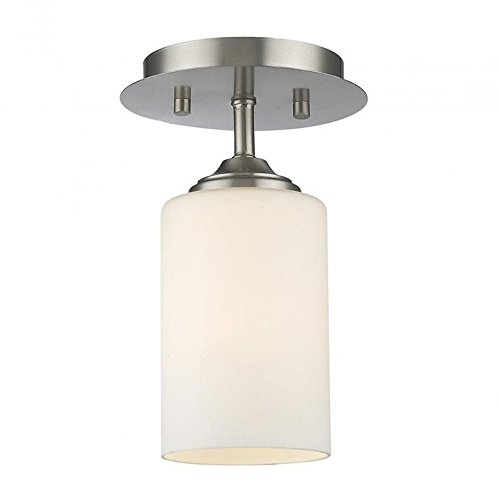 1 - Light Flush Mount (Bordeaux Flush Mount Ceiling Light)