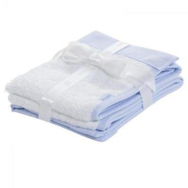 Cambrass Liso E - Juego de 2 toallas, 25 x 35 cm, color beige: Amazon.es: Bebé