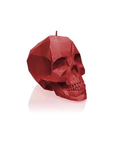 Candellana Candles Small Skull, Red by Candellana Candles