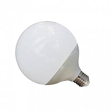 Driwei - Bombilla LED de globo de 24 W con casquillo E27 y luz blanca fría: Amazon.es: Iluminación