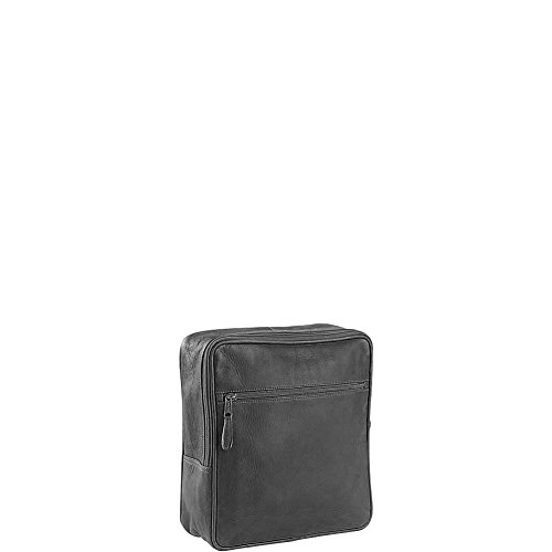 [Clava Square Backpack (Vachetta Black)] (Case Vachetta Leather)