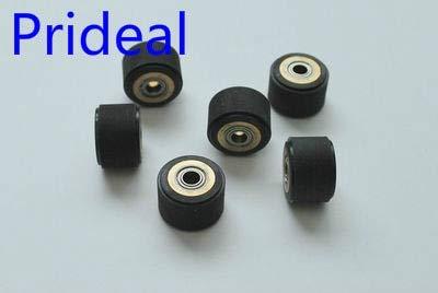 Printer Parts 10pc Pinch Roller Paper Pressing Wheel Roller For Yoton Cutting Plotter Vinyl Cutter 4x10x14mm Roller Printer Parts Copper Core by Yoton (Image #2)
