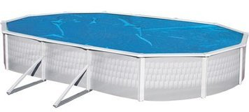 - Solar Cover 18' X 33' Oval Above Ground Swimming Pool 3 Year Warranty