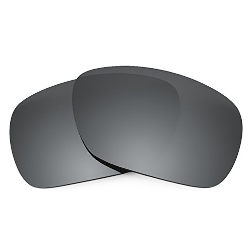 Revant Polarized Replacement Lenses for Oakley Inmate Black Chrome - Inmate Sunglasses