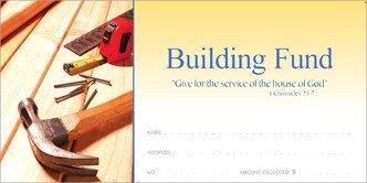 Gift Offering Envelope - Building Fund Offering Envelope
