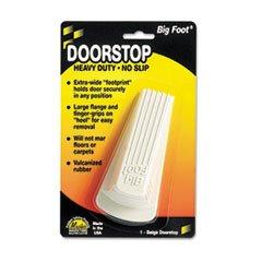 Master Caster 900 Big Foot Doorstop, White (Master Caster Door Door Stop)
