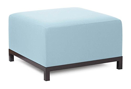 Howard Elliott Q902-901 Axis Ottoman Slipcover, Starboard Breeze by Howard Elliott Collection