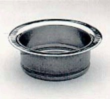 Newport Brass 112 Solid Brass Farm Style Garbage Disposal Flange, Polished Copper