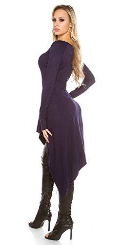 In-Stylefashion - Vestido - para mujer azul oscuro