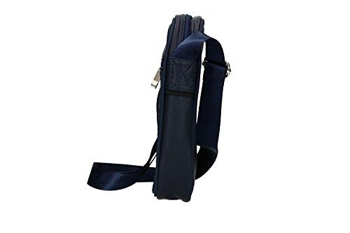INTER - ENZO CASTELLANO Bandolera hombre azul bandolera bolsa VF481