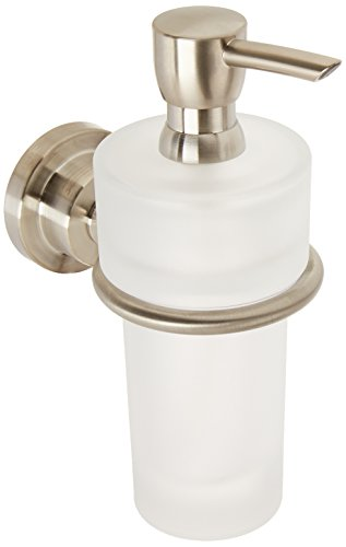 Axor 41719820 Wall-Mounted 8oz Soap Lotion Dispenser, Brushed Nickel