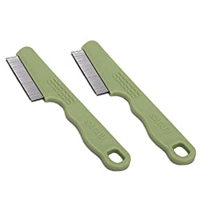 Safari Flea Comb with a Double Row of Teeth (2-Pack) 67
