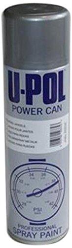 U-Pol Products 0808 Alloy Silver POWER CAN Automotive Aerosol - (Silver Aerosol)