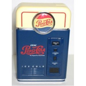 (Pepsi Cola Coin Sorter Vending Machine Bank ~ Counts, Sorts, and Makes Money Rolling Easy)