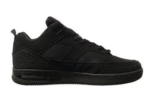 Sneakers Alte Phat Farm Morris Uomo Nero Mono Cromo