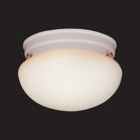 Thomas Lighting 1 Light Drum Style Flush Mount (Thomas Lighting White Drum)