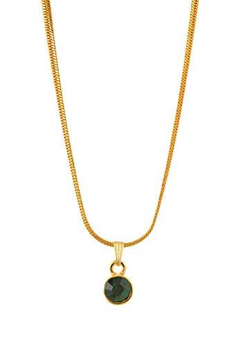 Handicraft Kottage Girl's Gold Plated Pendant (HK-SP-1067) by Handicraft Kottage