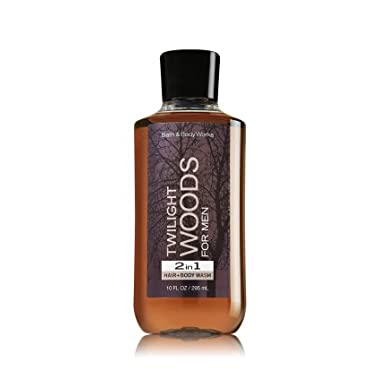 Bath Body Works Twilight Woods for Men 10 oz 2 in 1 Hair Body Wash
