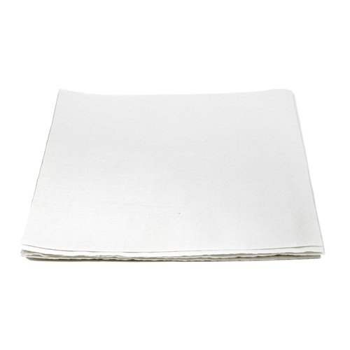 Hospital Specialty Co. TOUGHWORKS Four-Ply Nylon Scrim Wipers, Bulk, White, 900/Case